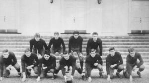 JFK (first row, second from right) at Choate.