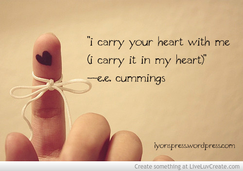 i_carry_your_heart_with_me lyons press